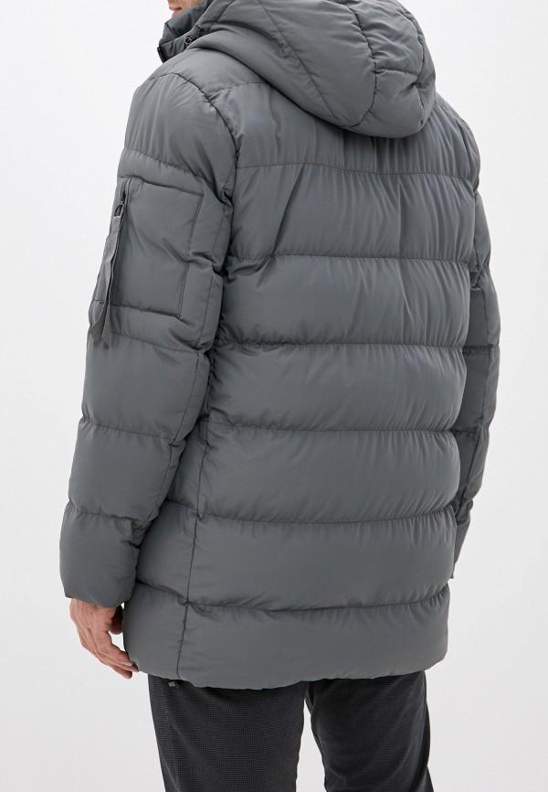 Фото 3 - Куртку утепленная Befree серого цвета