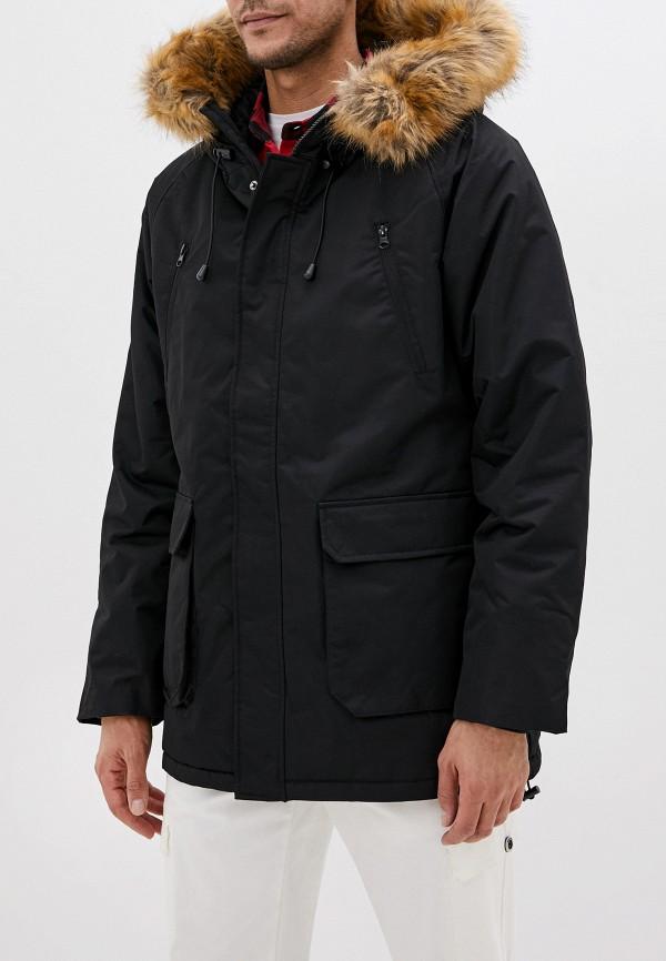 мужская куртка befree, черная