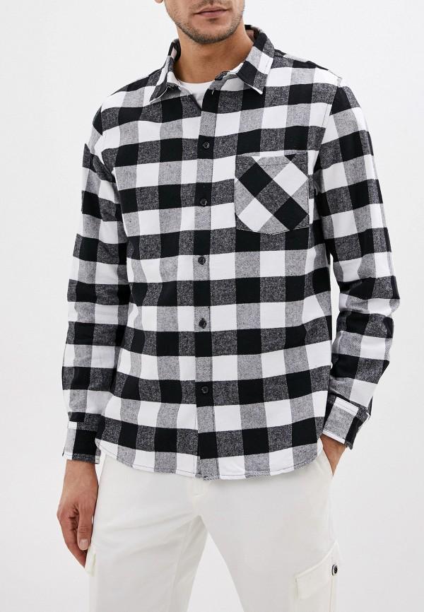 мужская рубашка с длинным рукавом befree, черная