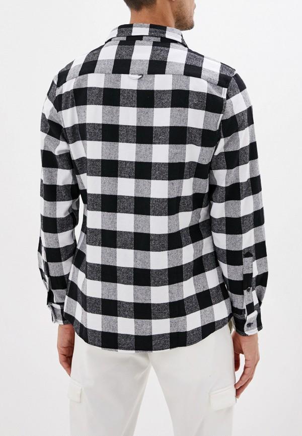 Фото 3 - мужскую рубашку Befree черного цвета