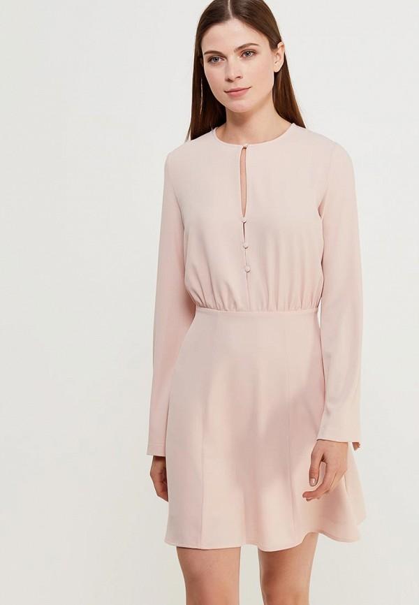 Купить Платье Befree, Befree BE031EWADNT2, розовый, Весна-лето 2018