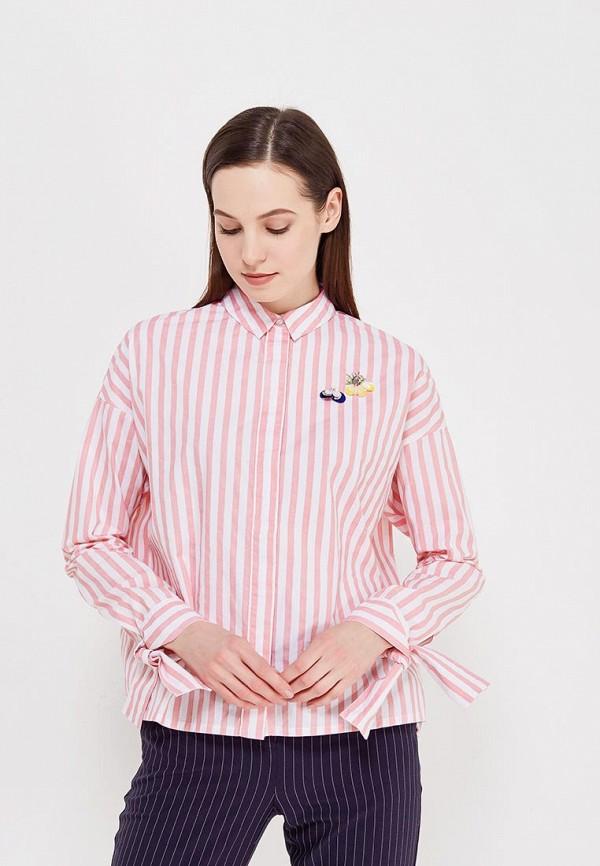 Купить Рубашка Befree, be031ewadoc0, розовый, Весна-лето 2018