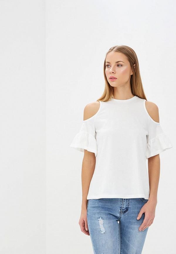 Купить Топ Befree, BE031EWAZXI6, белый, Весна-лето 2018