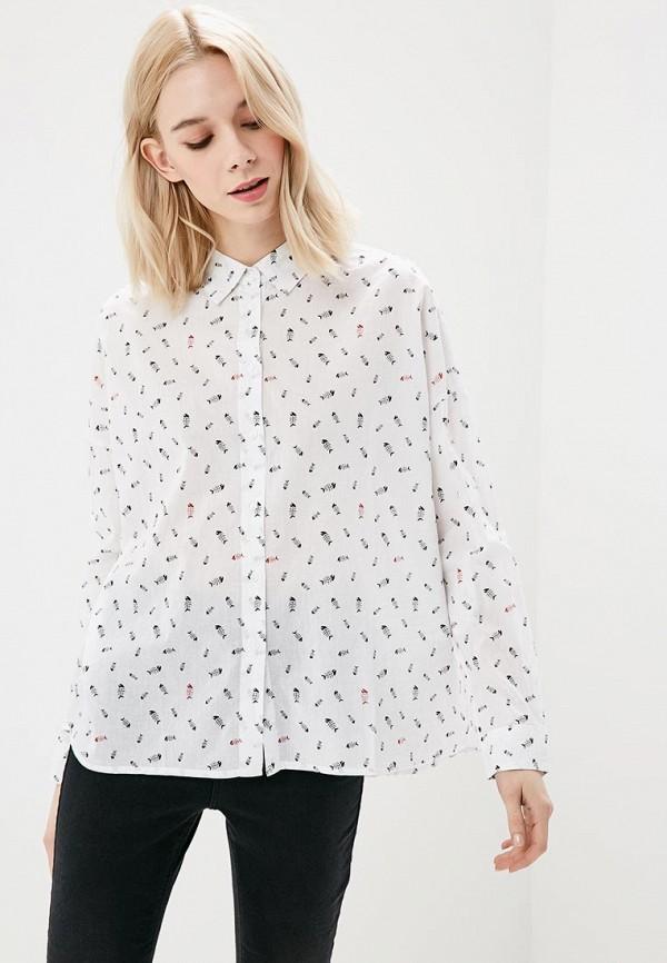 Купить Рубашка Befree, Befree BE031EWAZXJ8, белый, Весна-лето 2018