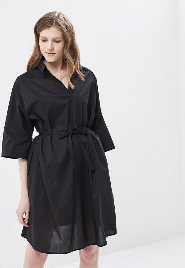 Купить Платье Befree, Befree BE031EWAZZH5, черный, Весна-лето 2018