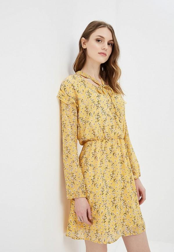 Купить женское платье Befree желтого цвета