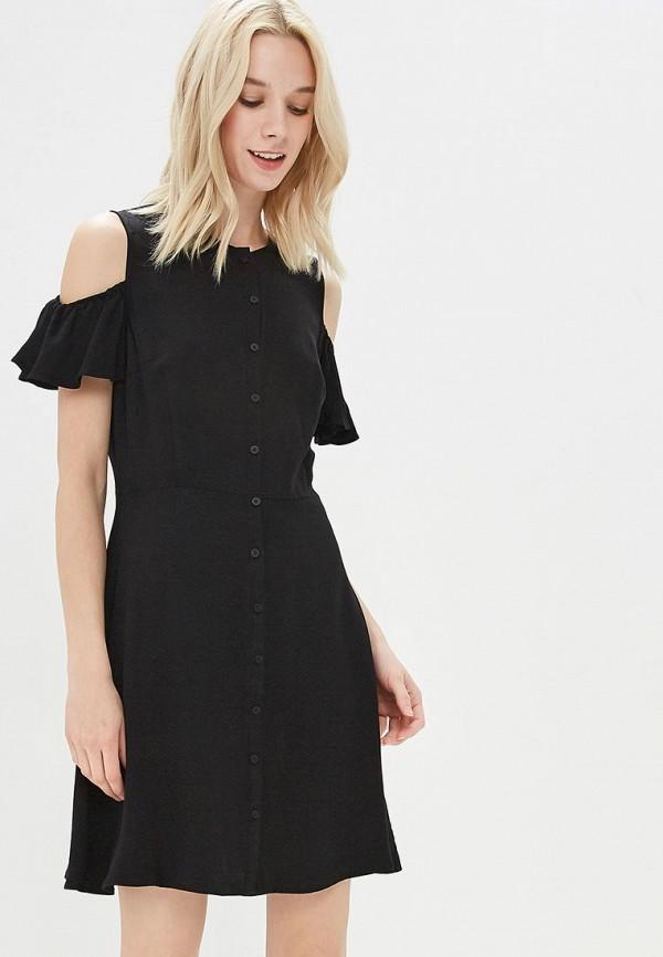 Купить Платье Befree, Befree BE031EWAZZI6, черный, Весна-лето 2018