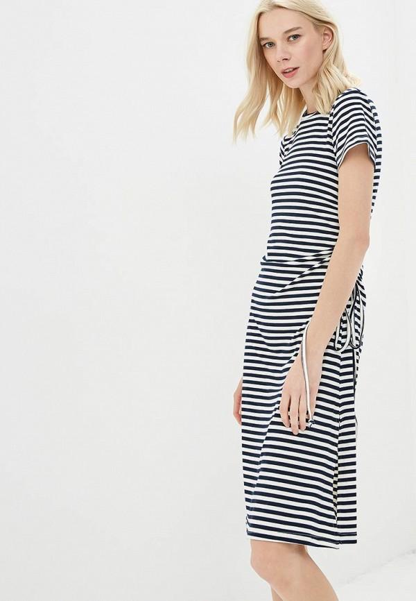 Купить Платье Befree, Befree BE031EWAZZJ3, синий, Весна-лето 2018