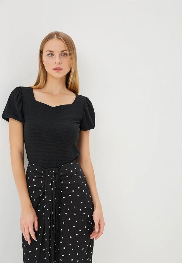 Купить Блуза Befree, Befree BE031EWAZZJ7, черный, Весна-лето 2018
