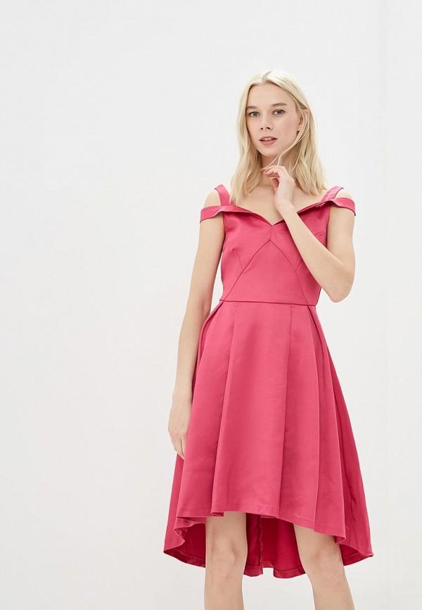 Купить Платье Befree, Befree BE031EWBAAT5, розовый, Весна-лето 2018