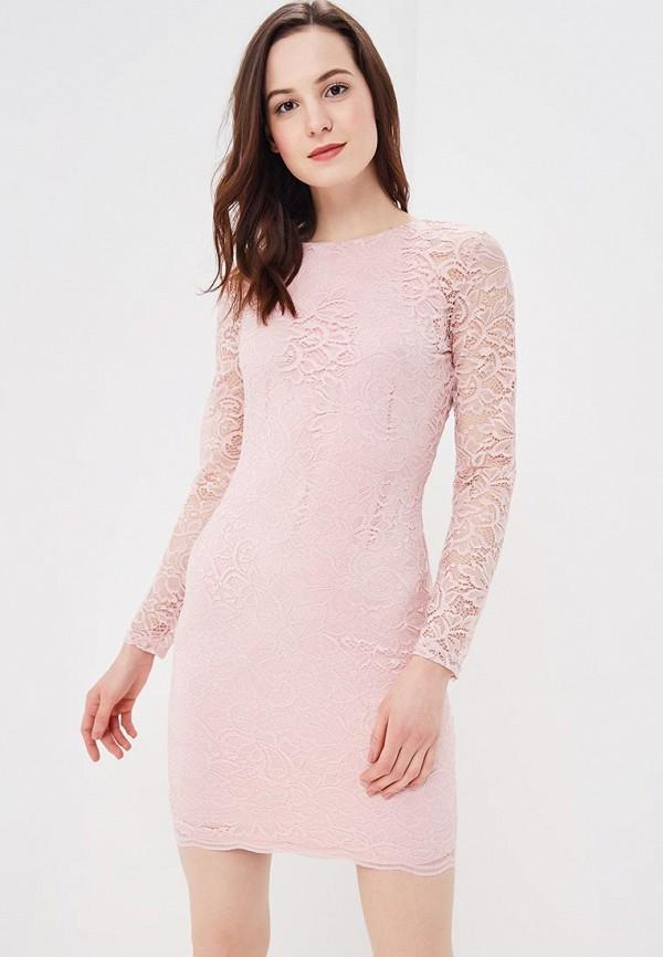 Купить Платье Befree, Befree BE031EWBABI9, розовый, Весна-лето 2018