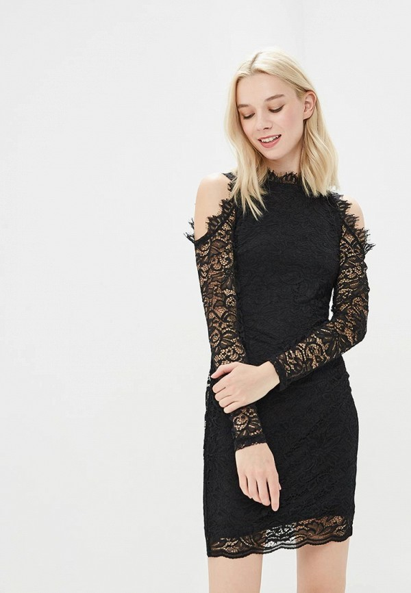 Купить Платье Befree, Befree BE031EWBABJ0, черный, Весна-лето 2018