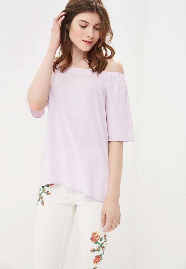Купить Блуза Befree, be031ewbabt0, фиолетовый, Весна-лето 2018