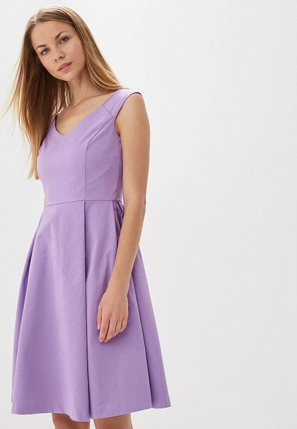 Купить Платье Befree, be031ewbncv0, фиолетовый, Весна-лето 2018