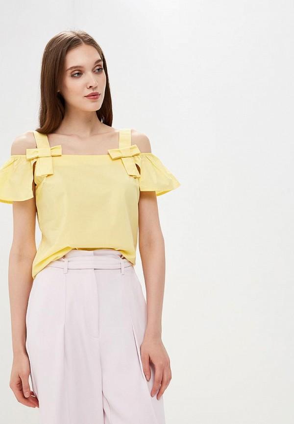 Блуза Befree Befree BE031EWBNDB0 жен блуза арт 16 0118 желтый р 52