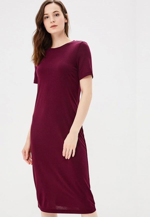 женское повседневные платье befree, фиолетовое