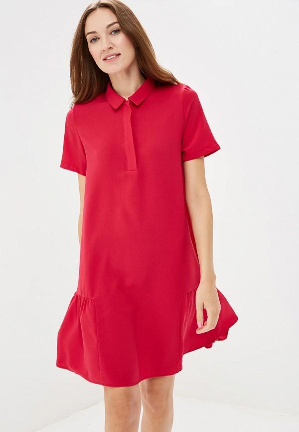 Купить Платье Befree, BE031EWBXHY5, розовый, Осень-зима 2018/2019