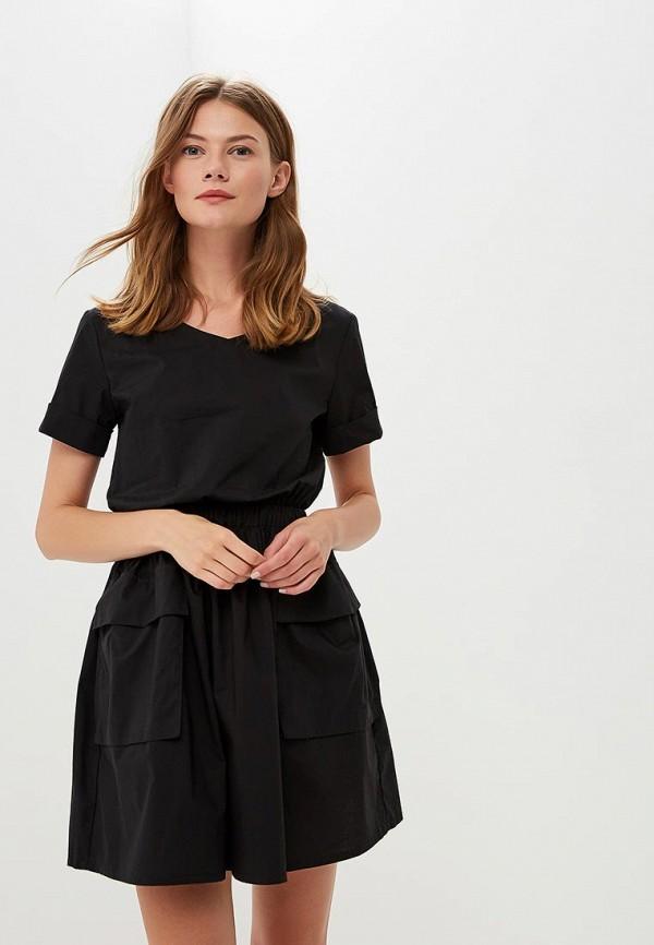 Купить Платье Befree, BE031EWBXHY7, черный, Осень-зима 2018/2019