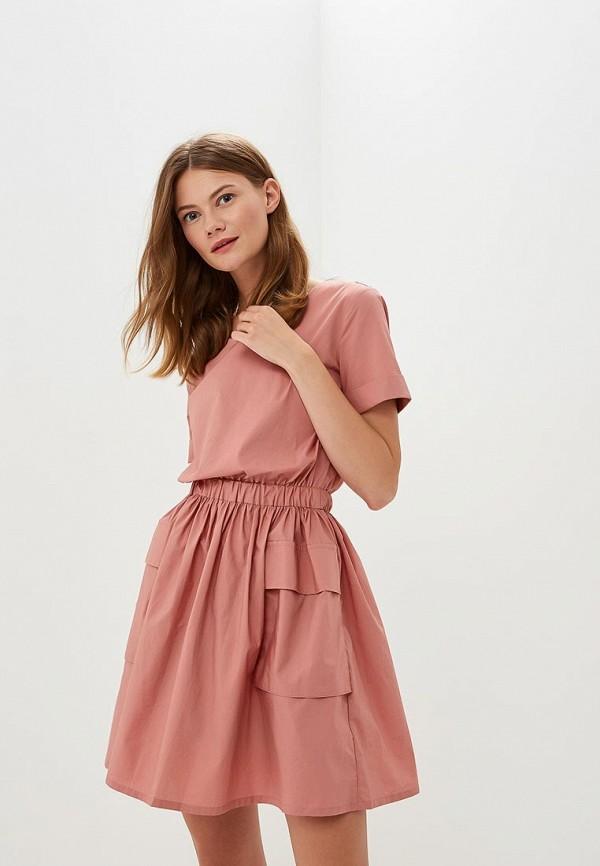 Купить Платье Befree, BE031EWBXHY9, розовый, Осень-зима 2018/2019
