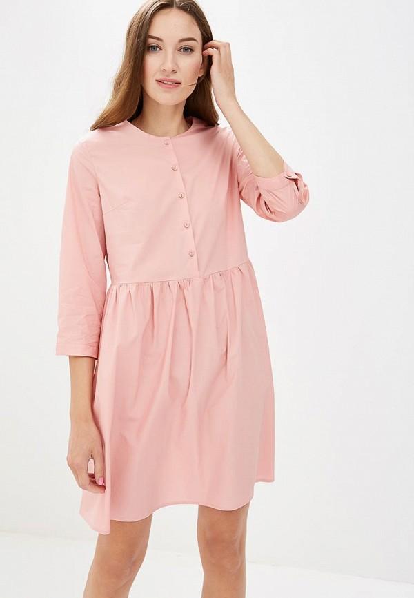 Купить Платье Befree, BE031EWBXIA8, розовый, Осень-зима 2018/2019