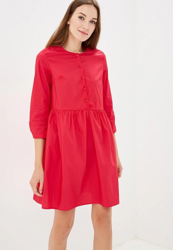 Купить Платье Befree, BE031EWBXIA9, розовый, Осень-зима 2018/2019