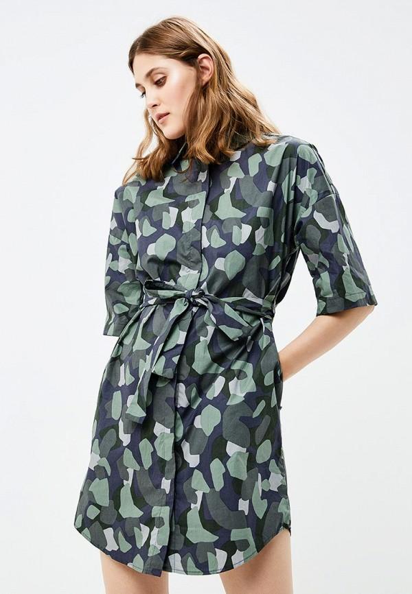 женское платье befree, зеленое