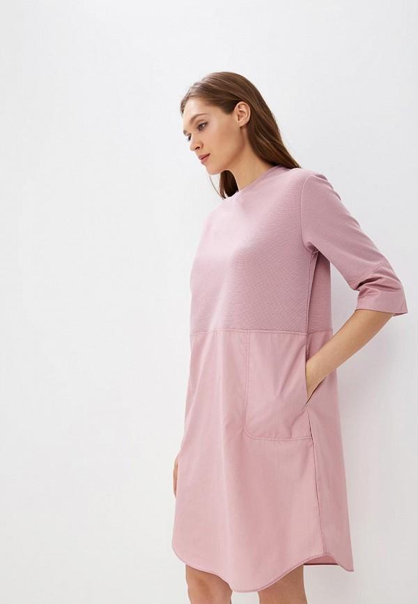 Купить Платье Befree, BE031EWBXJF9, розовый, Осень-зима 2018/2019