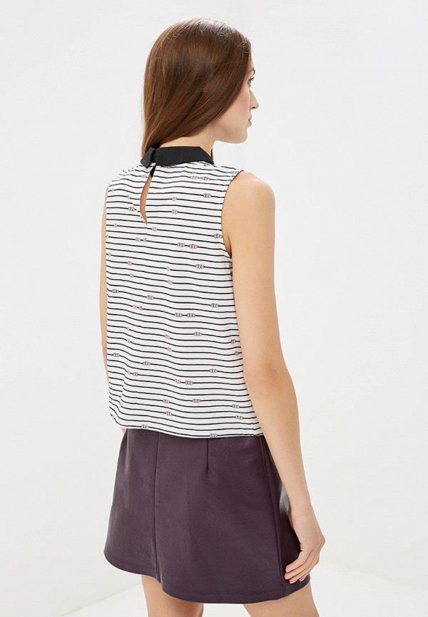 Фото 3 - женскую блузку Befree белого цвета