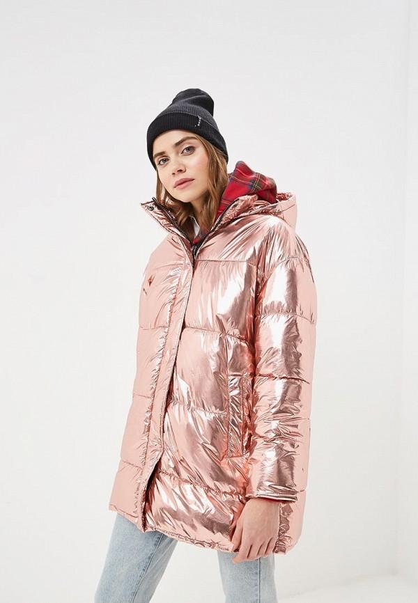 Купить Куртку утепленная Befree розового цвета