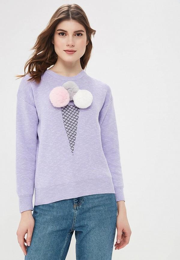 женский джемпер befree, фиолетовый