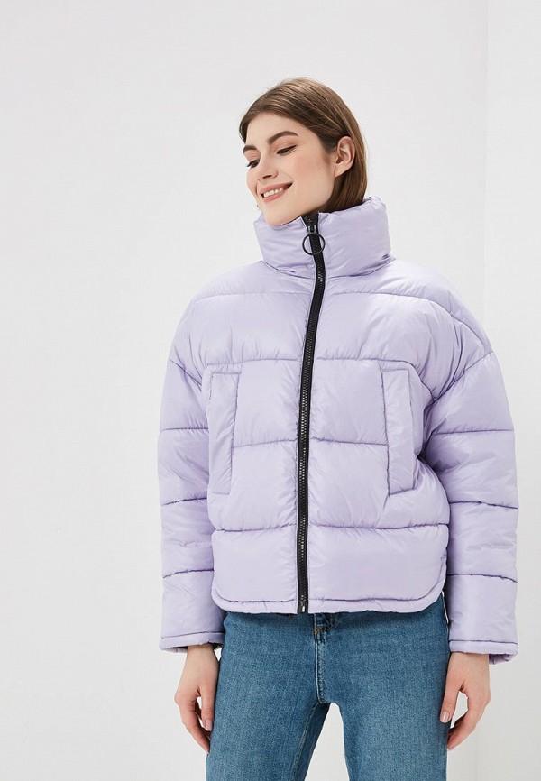 женская куртка befree, фиолетовая