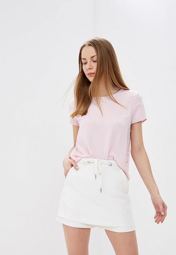 женская блузка befree, розовая