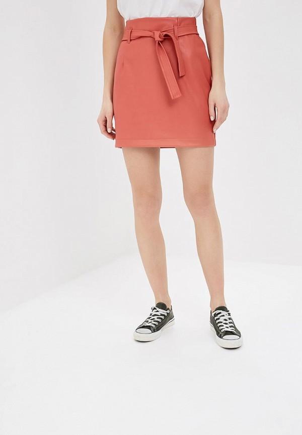 женская юбка befree, оранжевая