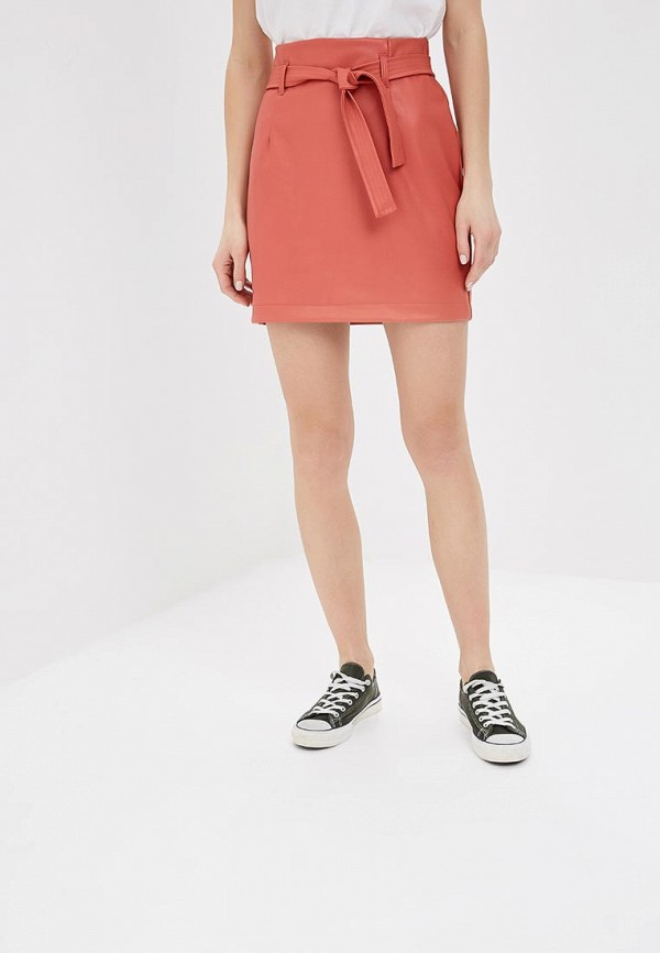 Фото - женскую юбку Befree оранжевого цвета