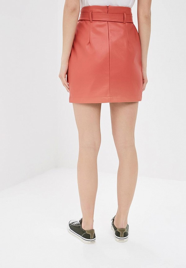 Фото 3 - женскую юбку Befree оранжевого цвета