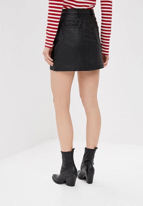 Фото 3 - женскую юбку Befree черного цвета