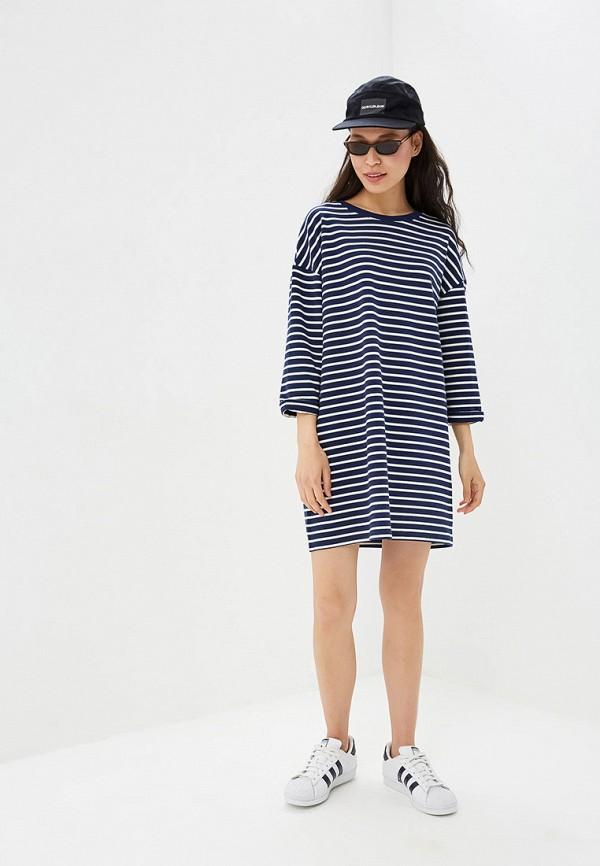 Фото 2 - Женское платье Befree синего цвета