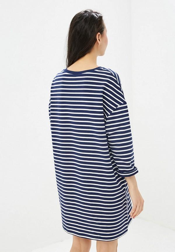 Фото 3 - Женское платье Befree синего цвета