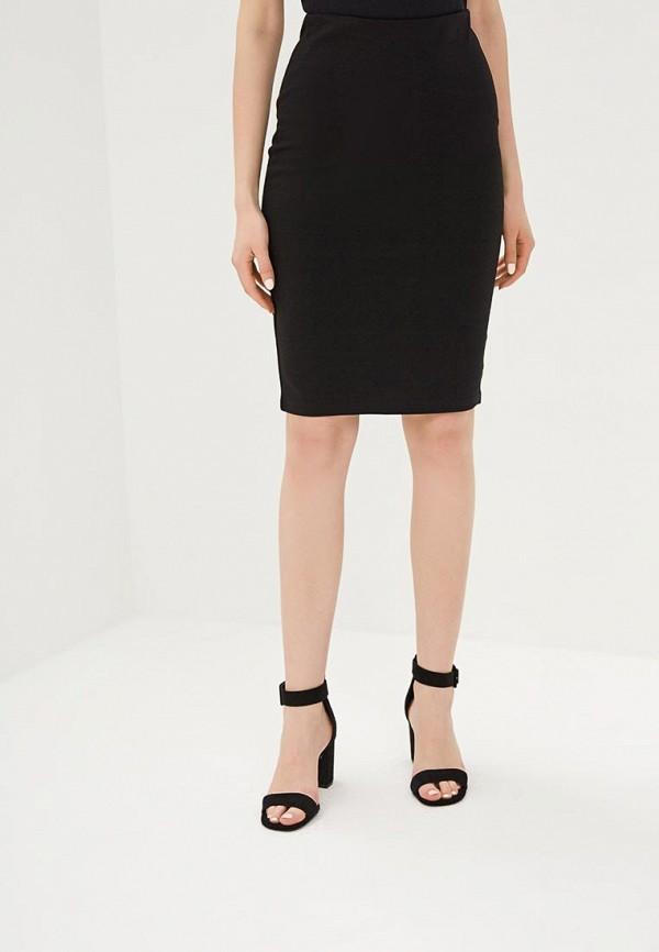 женская зауженные юбка befree, черная