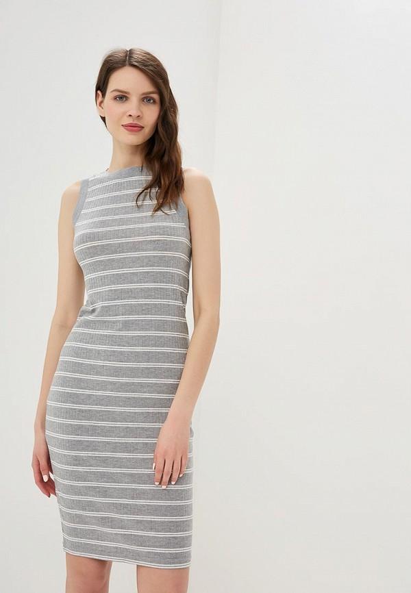 женское платье befree, серое