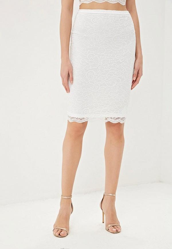 женская прямые юбка befree, белая