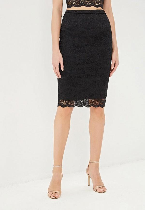 женская прямые юбка befree, черная