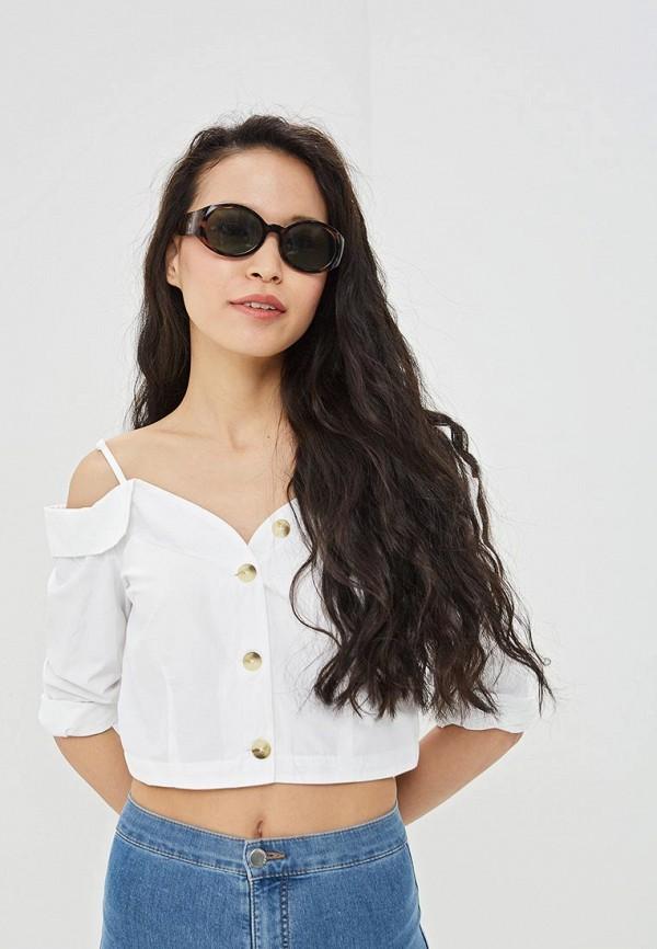 женская блузка befree, белая