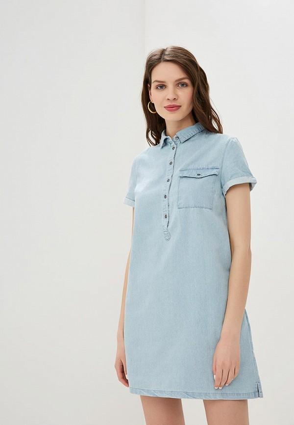 Платье джинсовое Befree Befree BE031EWEXQA7 платье джинсовое befree befree mp002xw1ibz2