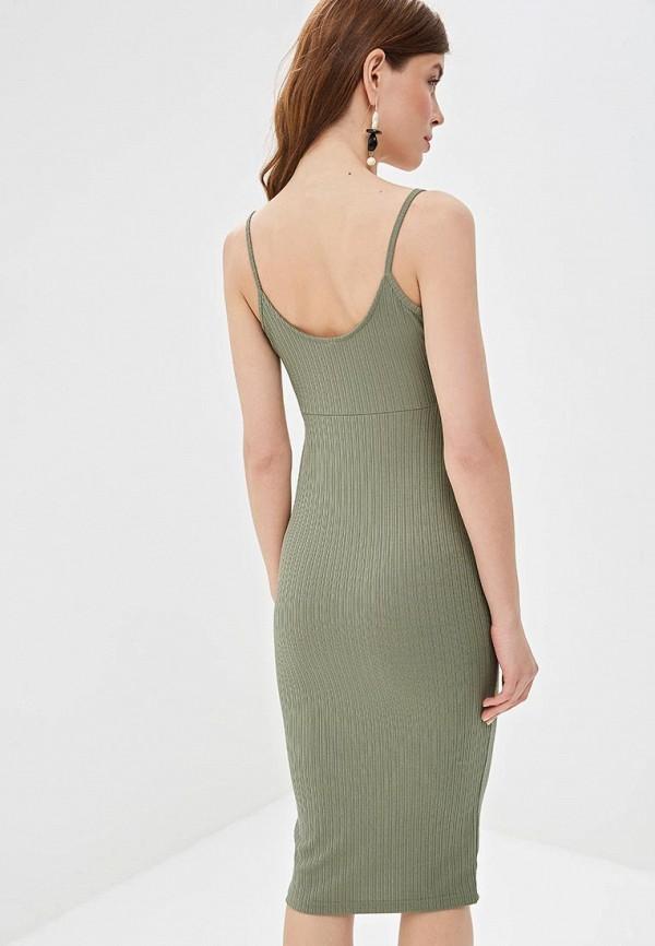 Фото 3 - Женское платье Befree зеленого цвета