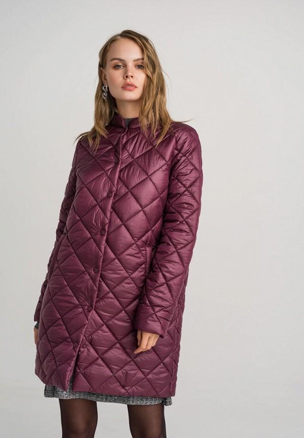 женская куртка befree, бордовая