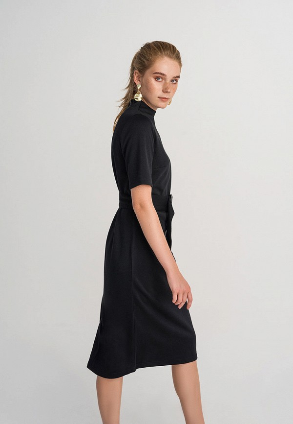 женское повседневные платье befree, черное