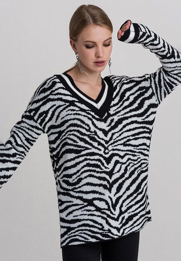 женский пуловер befree, разноцветный