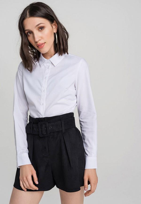 женская рубашка с длинным рукавом befree, белая