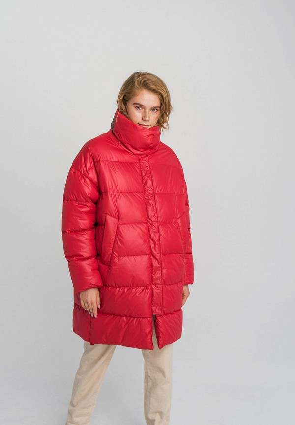 женская куртка befree, красная
